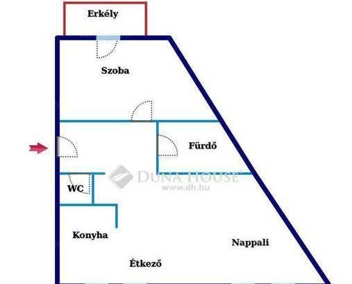 Kecskeméti új építésű lakás eladó, 50 négyzetméteres, 1+1 szobás