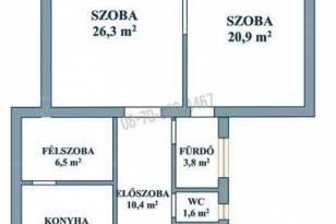Budapesti lakás kiadó, Kelenföldön, Bartók Béla út, 2 szobás