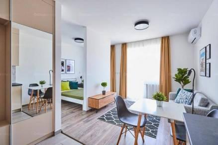 Budapesti új építésű lakás kiadó, 30 négyzetméteres, 1 szobás