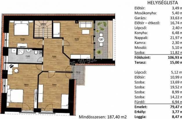 Eladó családi ház Budakeszi, Ady Endre utca, 5 szobás