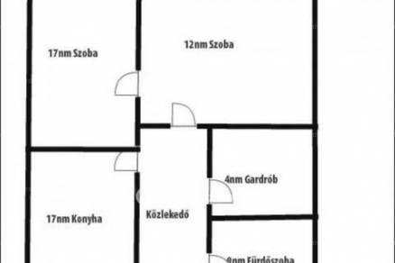 Budapesti lakás eladó, Józsefvárosban, Illés utca, 2 szobás