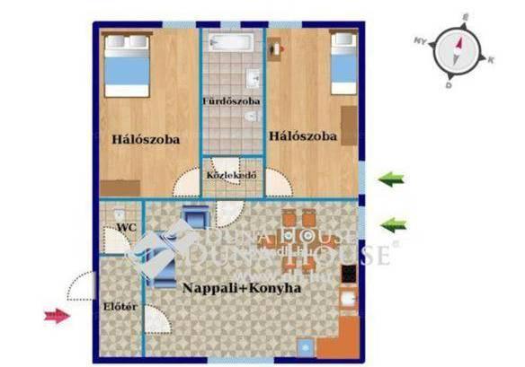 Veszprém 3 szobás új építésű lakás kiadó