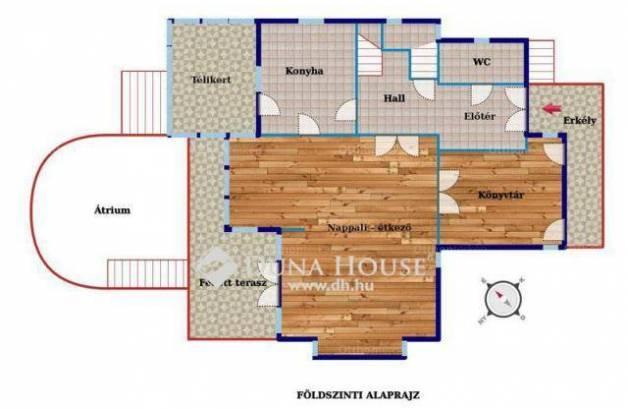 Eladó családi ház, Széphalom, Budapest, 6 szobás