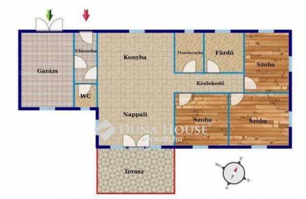 Eladó 4 szobás új építésű ikerház Délegyháza a Búza utcában