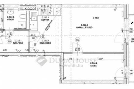 Budapest eladó új építésű lakás Rákospalotán, 54 négyzetméteres