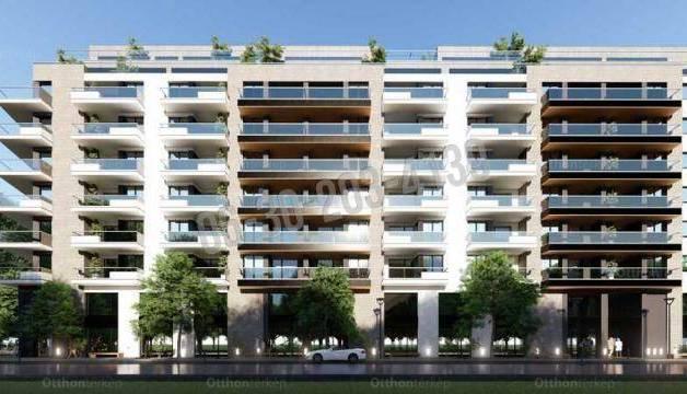 Budapest eladó új építésű lakás Angyalföldön a Béke téren, 83 négyzetméteres