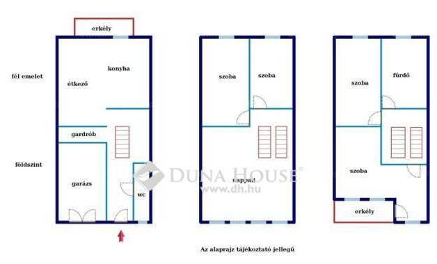 Kecskemét 5 szobás sorház eladó