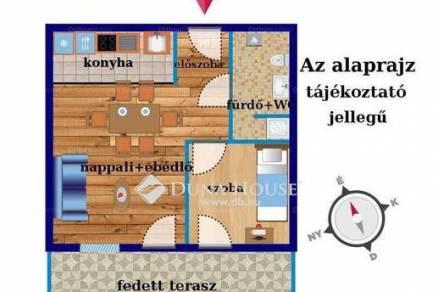 Eladó 1+1 szobás lakás Vecsés
