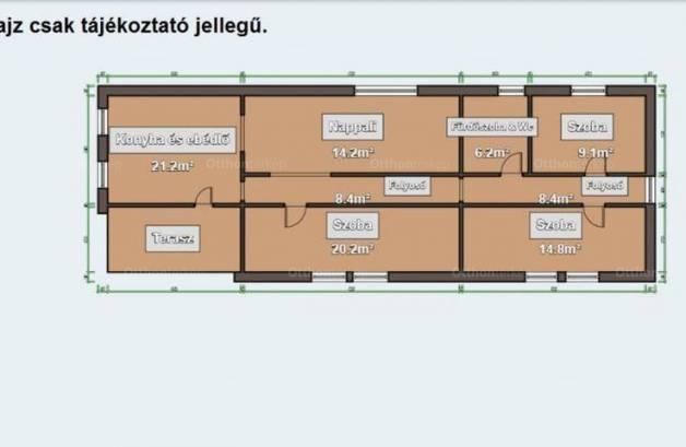 Eladó 3 szobás családi ház Vác