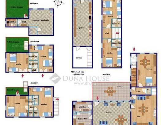 Eladó ház Vászoly, 7 szobás