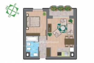 Budapesti lakás eladó, 39 négyzetméteres, 2 szobás