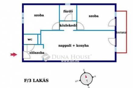 Hajdúszoboszlói, 1+2 szobás, új építésű