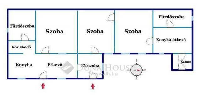 Debreceni eladó házrész, 3 szobás, a Nap utcában