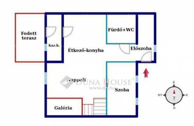 Eladó 1+1 szobás sorház Hajdúsámson a Kiss utcában