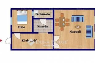 Budapest lakás eladó, Terézvárosban, 1+1 szobás