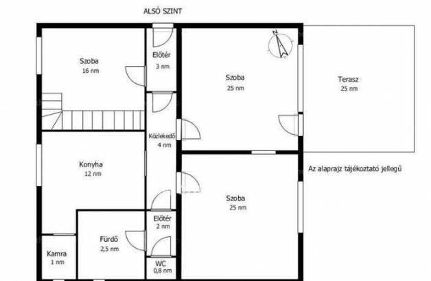 Eladó családi ház Érd, 6 szobás