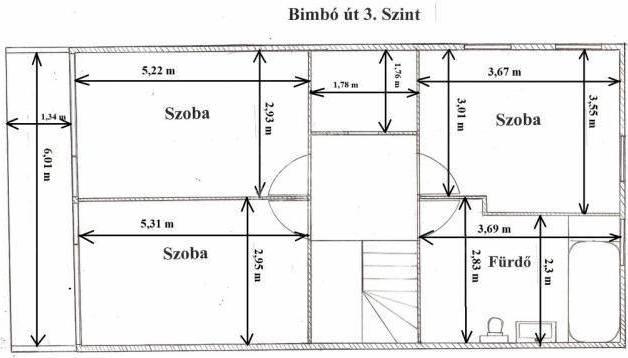 Eladó 7 szobás sorház Törökvészen, Budapest, Bimbó út