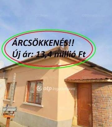 Eladó 2 szobás családi ház Törökszentmiklós