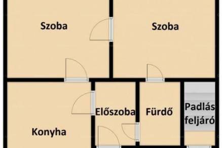 Családi ház eladó Maroslele, 70 négyzetméteres