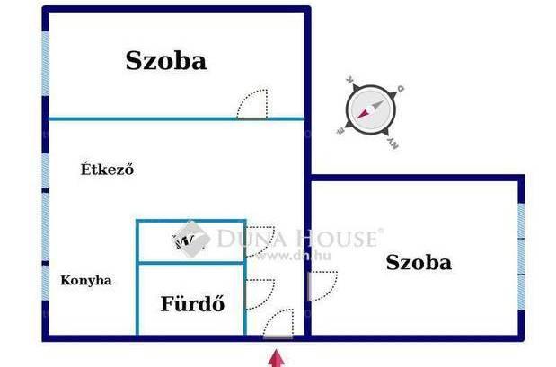Eladó 2 szobás lakás Kecskemét