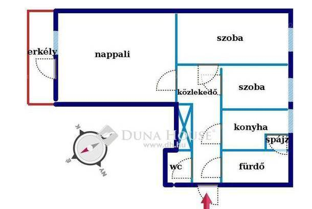 Eladó, Kecskemét, 1+2 szobás