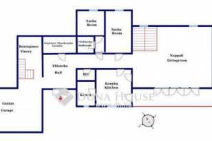 Szentendrei ikerház eladó, 482 négyzetméteres, 4+2 szobás