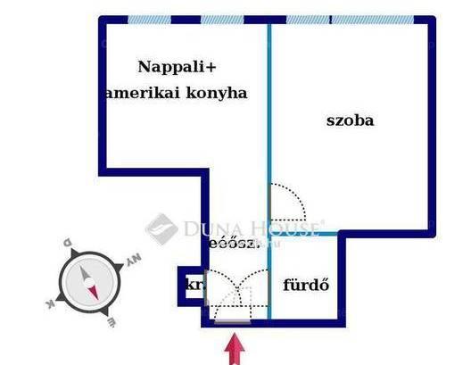 Eladó lakás Lágymányoson, 2 szobás