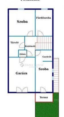 Solymári ikerház eladó, 178 négyzetméteres, 4 szobás