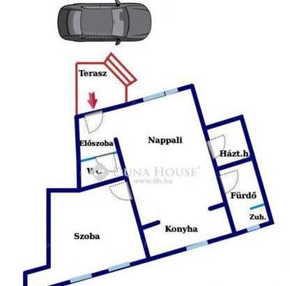 Eladó lakás Kecskemét, Nagykőrösi utca, 2 szobás