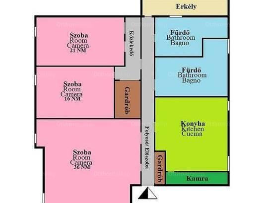 Kiadó lakás Istvánmezőn, 3 szobás
