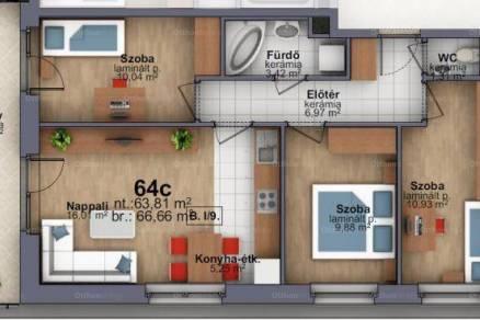 Szombathely 4 szobás új építésű lakás eladó