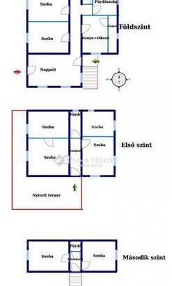 Családi ház eladó Balatonfüred, 220 négyzetméteres