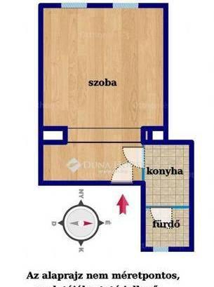 Eladó 1 szobás lakás Újlipótvárosban, Budapest, Visegrádi utca