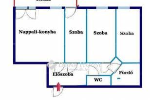 Eladó lakás Cinkotán, 2+1 szobás