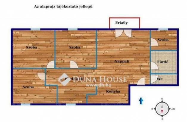 Veszprémi lakás eladó, 91 négyzetméteres, 4+1 szobás