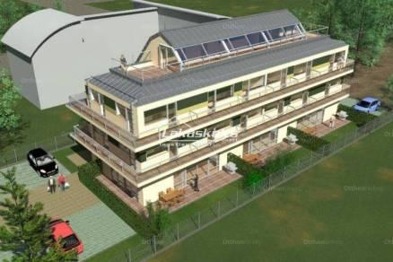 Balatonszemes új építésű lakás eladó, 1 szobás