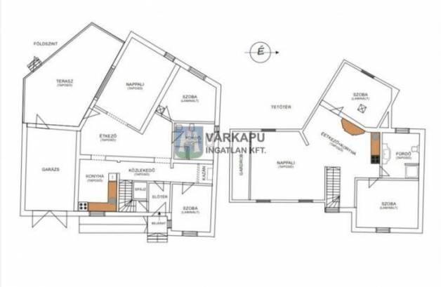 Eladó sorház Székesfehérvár, 6 szobás
