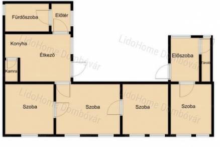 Bikali eladó családi ház, 4 szobás, 130 négyzetméteres