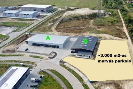 Győri kiadó telek, 3000 négyzetméteres