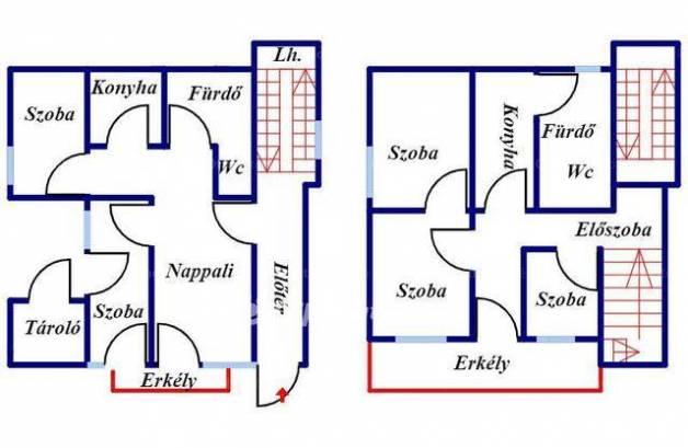Családi ház eladó Balatonfüred, 120 négyzetméteres