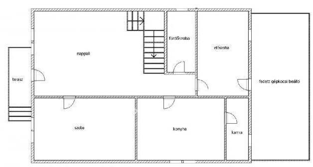 Eladó 4 szobás családi ház Fót