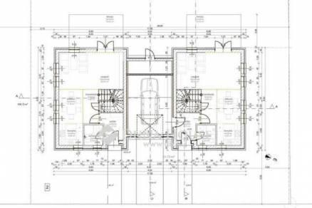 Eladó új építésű ikerház Rákoskeresztúron, XVII. kerület Csabai út, 2+2 szobás