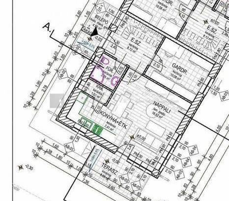 Velencei új építésű ikerház eladó, 100 négyzetméteres, 2+3 szobás