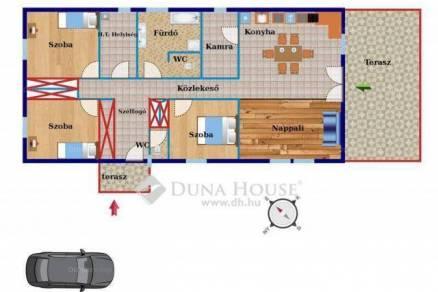 Eladó 3+1 szobás új építésű családi ház Velence