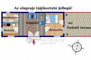 Eladó 1+1 szobás családi ház Soroksáron, Budapest, Vízisport utca