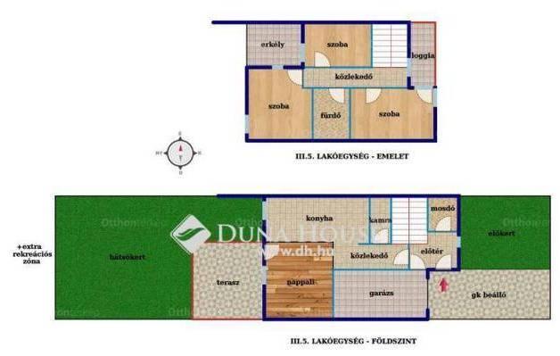 Debrecen új építésű sorház eladó, 3+1 szobás