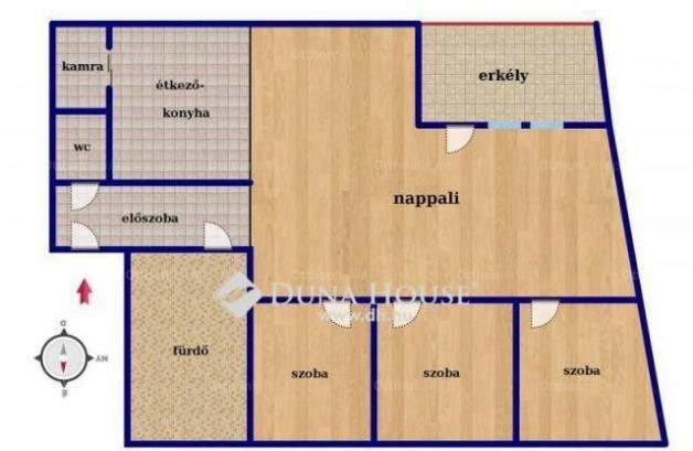 Eladó lakás, Debrecen, 1+3 szobás