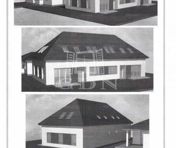 Komáromi új építésű ikerház eladó, 140 négyzetméteres, 5+1 szobás