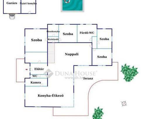 Eladó 6 szobás családi ház Vecsés