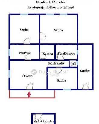Budapest, családi ház eladó, Ganzkertváros, 2+1 szobás